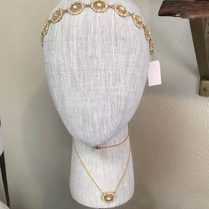 Bridal Headpiece and Necklace